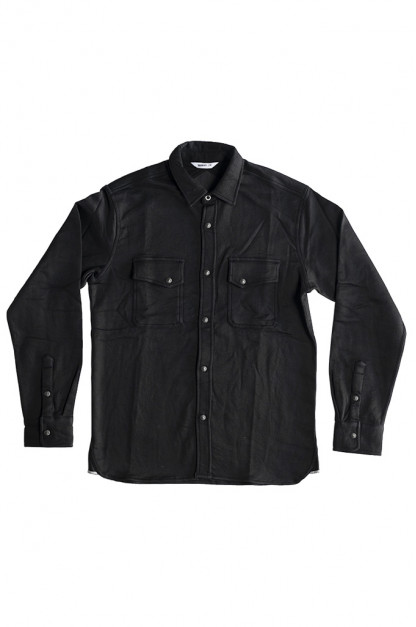 3sixteen Crosscut Shirt - Black Knit