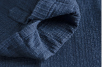3sixteen Crosscut Shirt - Handloom Indigo Grid - Image 7