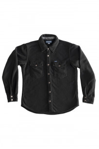 Iron Heart Micro Fleece CPO Shirt - Cozy Time Black - Image 5