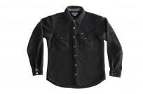 Iron Heart Micro Fleece CPO Shirt - Cozy Time Black - Image 6