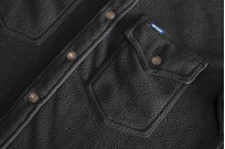 Iron Heart Micro Fleece CPO Shirt - Cozy Time Black - Image 7