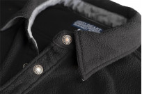 Iron Heart Micro Fleece CPO Shirt - Cozy Time Black - Image 10