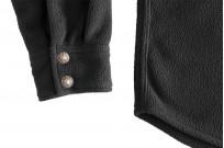 Iron Heart Micro Fleece CPO Shirt - Cozy Time Black - Image 11