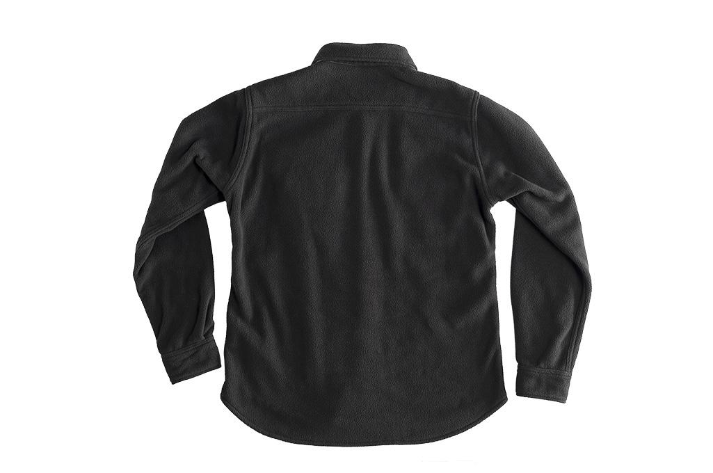 Iron Heart Micro Fleece CPO Shirt - Cozy Time Black - Image 14