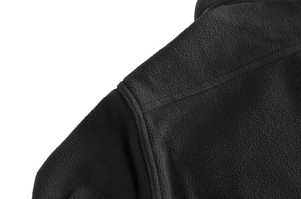 Iron Heart Micro Fleece CPO Shirt - Cozy Time Black - Image 15