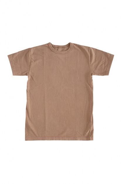 3sixteen Garment Dyed Plain T-Shirt - Clove
