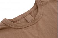 3sixteen Garment Dyed Plain T-Shirt - Clove - Image 4