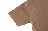 3sixteen Garment Dyed Plain T-Shirt - Clove - Image 5