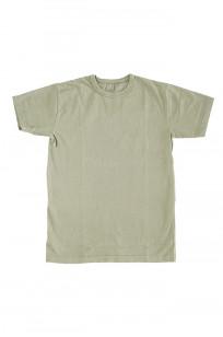 3sixteen Garment Dyed Plain T-Shirt - Military Green - Image 0