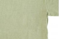 3sixteen Garment Dyed Plain T-Shirt - Military Green - Image 4