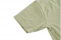3sixteen Garment Dyed Plain T-Shirt - Military Green - Image 5