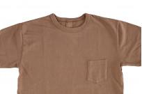 3sixteen Garment Dyed Pocket T-Shirt - Clove - Image 3