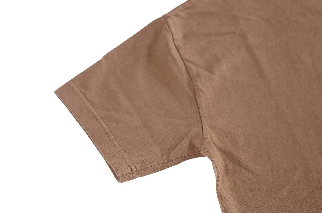 3sixteen Garment Dyed Pocket T-Shirt - Clove - Image 6