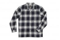 "Flat Head ""Davy"" Ombre Check Flannel - Black - Image 8"
