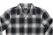 "Flat Head ""Davy"" Ombre Check Flannel - Black - Image 10"