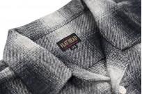 "Flat Head ""Davy"" Ombre Check Flannel - Black - Image 11"