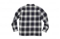 "Flat Head ""Davy"" Ombre Check Flannel - Black - Image 16"