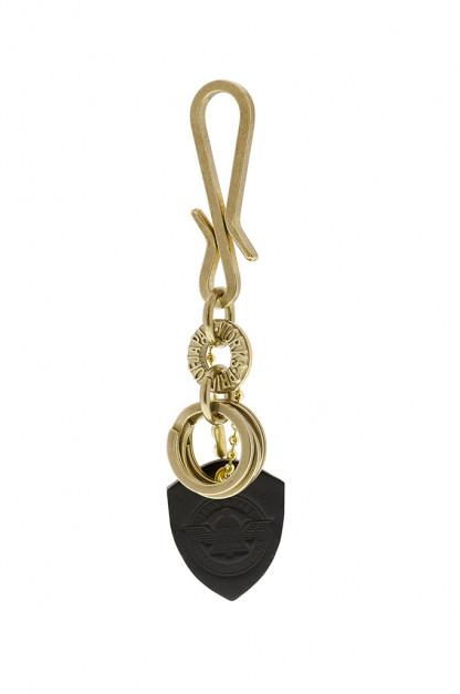 Iron Heart Brass Triple-Ring - S-Hook Keyhook