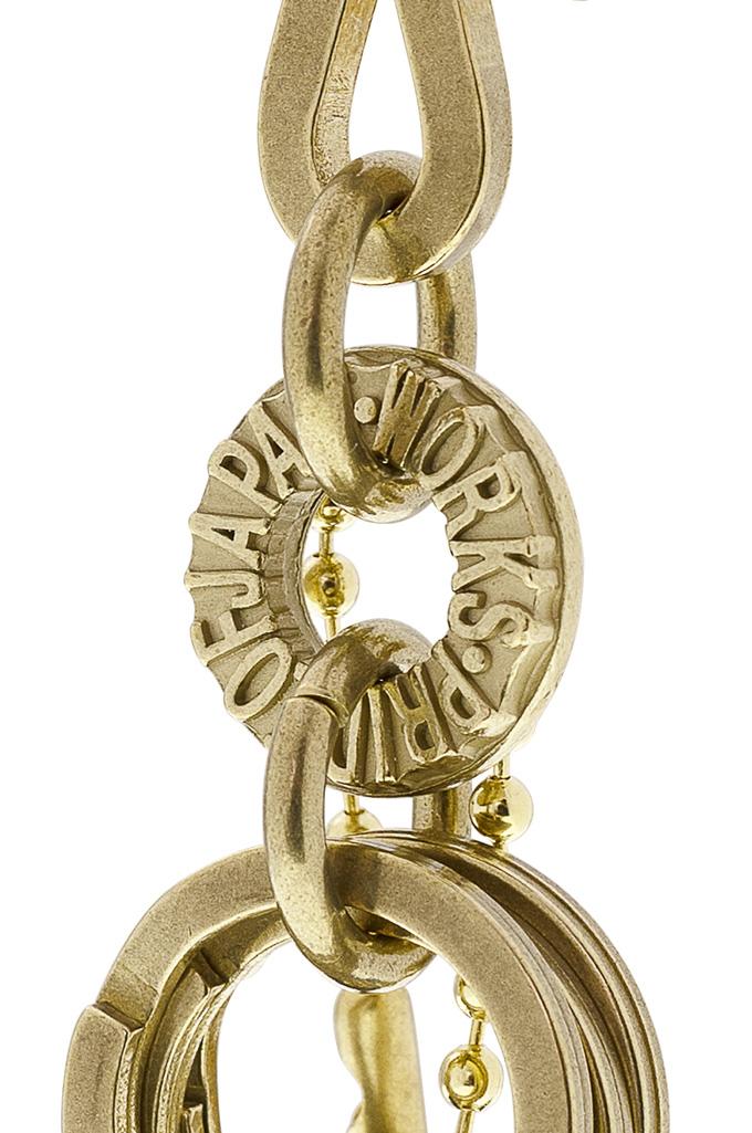 Iron Heart Brass Triple-Ring - S-Hook Keyhook - Image 2