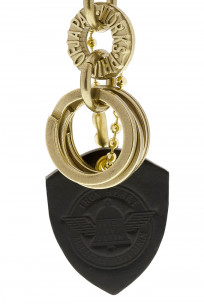 Iron Heart Brass Triple-Ring - S-Hook Keyhook - Image 3