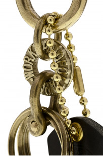 Iron Heart Brass Triple-Ring - Spring Clip - Image 3