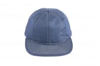 Poten Japanese Made Cap - Blue Cotton/Linen - Image 3