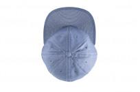 Poten Japanese Made Cap - Blue Cotton/Linen - Image 6