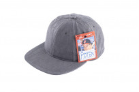 Poten Japanese Made Cap - Washed Out Black Linen - Image 2