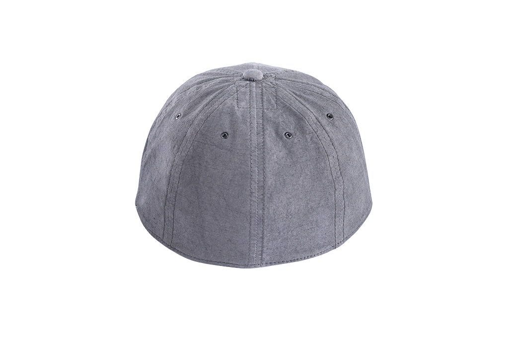 Poten Japanese Made Cap - Washed Out Black Linen - Image 5