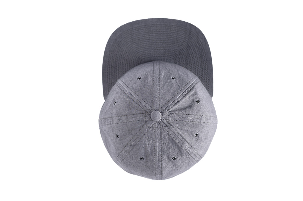 Poten Japanese Made Cap - Washed Out Black Linen - Image 6