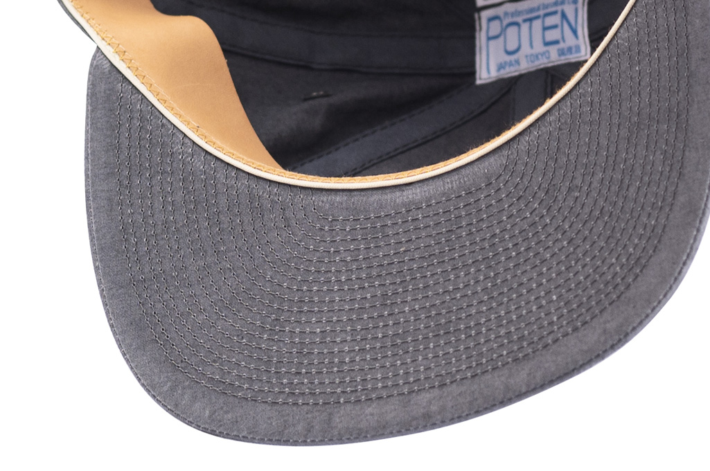 Poten_Japanese_Made_Cap_Washed_Out_Black