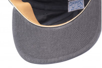 Poten Japanese Made Cap - Washed Out Black Linen - Image 7