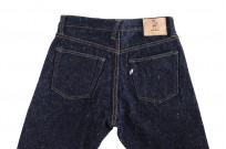 Pure Blue Japan SR-019 18oz Super Rough Denim Jeans - Straight Tapered - Image 9