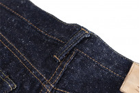 Pure Blue Japan SR-019 18oz Super Rough Denim Jeans - Straight Tapered - Image 12
