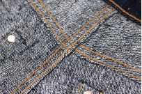 Pure Blue Japan SR-019 18oz Super Rough Denim Jeans - Straight Tapered - Image 16