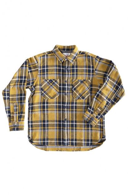 Seuvas Heavy Winter Flannel Shirt - Lemon Haze