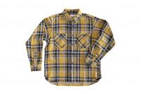 Seuvas Heavy Winter Flannel Shirt - Lemon Haze - Image 1