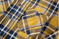Seuvas Heavy Winter Flannel Shirt - Lemon Haze - Image 2