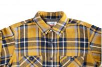 Seuvas Heavy Winter Flannel Shirt - Lemon Haze - Image 3