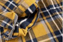 Seuvas Heavy Winter Flannel Shirt - Lemon Haze - Image 5
