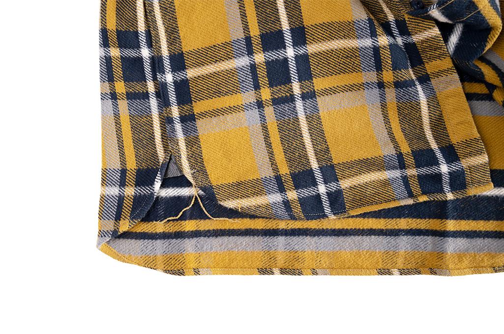 Seuvas Heavy Winter Flannel Shirt - Lemon Haze - Image 6