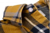 Seuvas Heavy Winter Flannel Shirt - Lemon Haze - Image 7