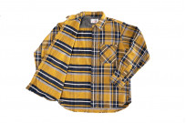 Seuvas Heavy Winter Flannel Shirt - Lemon Haze - Image 9
