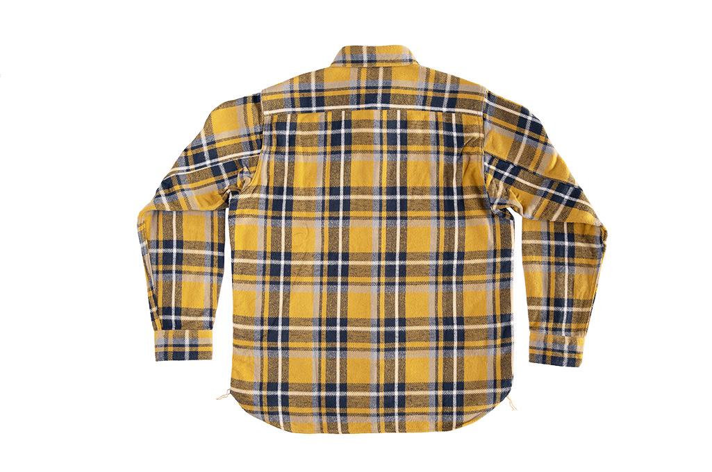 Seuvas Heavy Winter Flannel Shirt - Lemon Haze - Image 11