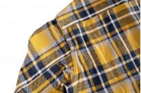 Seuvas Heavy Winter Flannel Shirt - Lemon Haze - Image 12