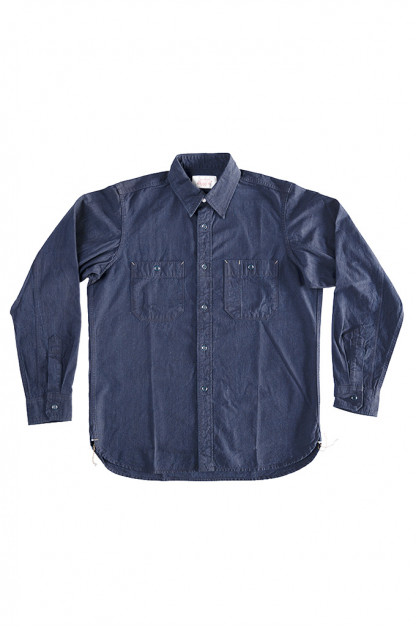 Seuvas Workshirt - Double Indigo Chambray