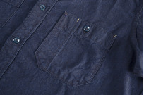 Seuvas Workshirt - Double Indigo Chambray - Image 2