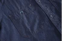 Seuvas Workshirt - Double Indigo Chambray - Image 3