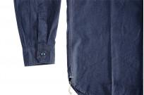 Seuvas Workshirt - Double Indigo Chambray - Image 5