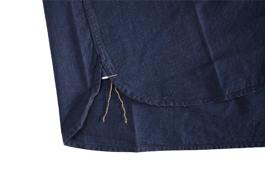 Seuvas Workshirt - Double Indigo Chambray - Image 9